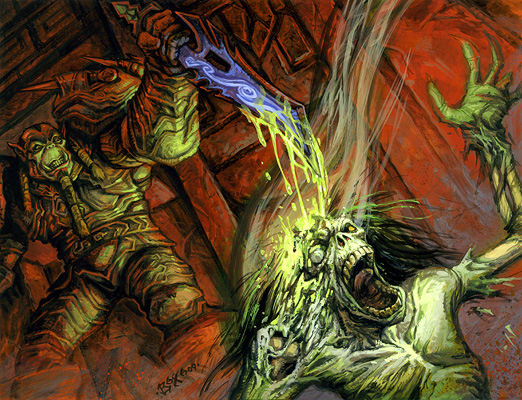 World Of Warcraft Tcg Artwork